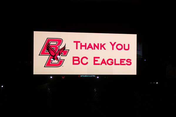 Thank You BC Eagles banner